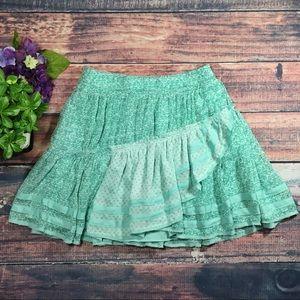 Free People Annabel Lee Mini Skirt